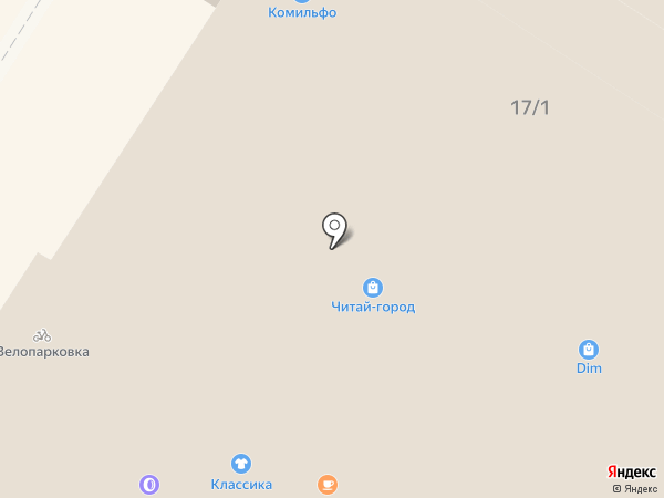 Стильные штучки на карте Тулы