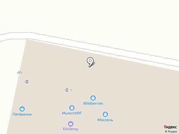 Пивной бочонок на карте Москвы