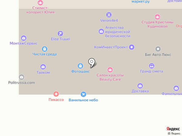 Uniontech на карте Москвы