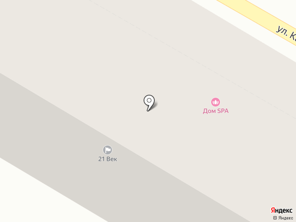 Минивэн на карте Тулы