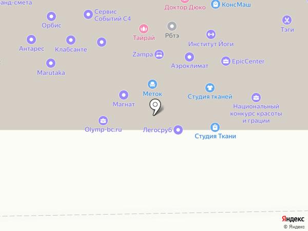 Perfect Raise на карте Москвы