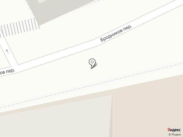 GLMed на карте Москвы