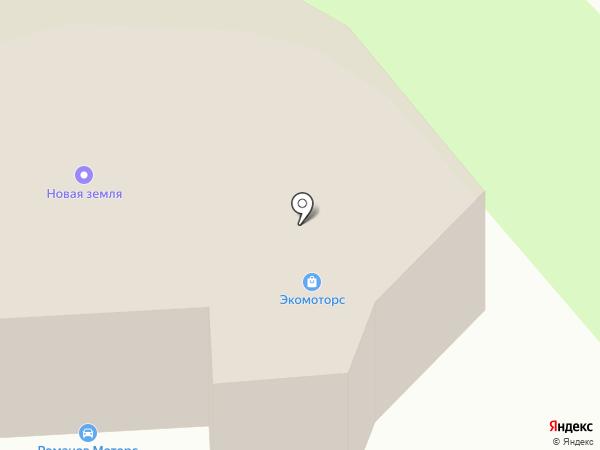 Новая Изба на карте Москвы