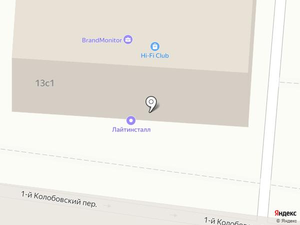Цитадель Эссетс Менеджмент на карте Москвы