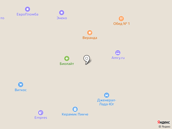 Логис на карте Москвы