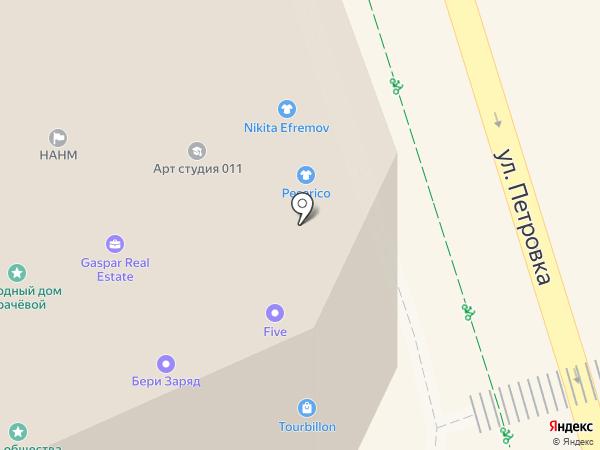 АВИЛОН AURA на карте Москвы