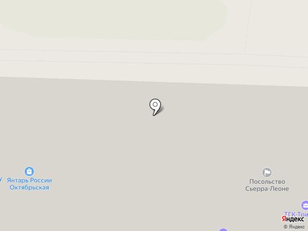 Посольство Сенегала на карте Москвы