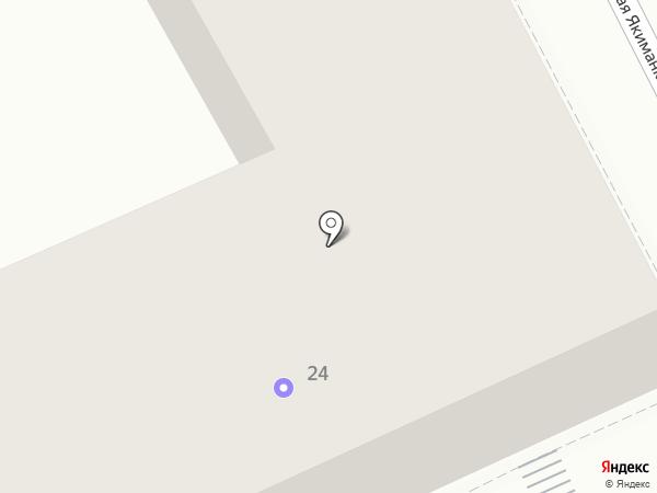 Квартира 44 на карте Москвы