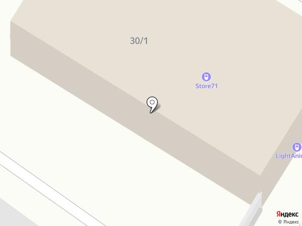 Аршин 71 на карте Тулы