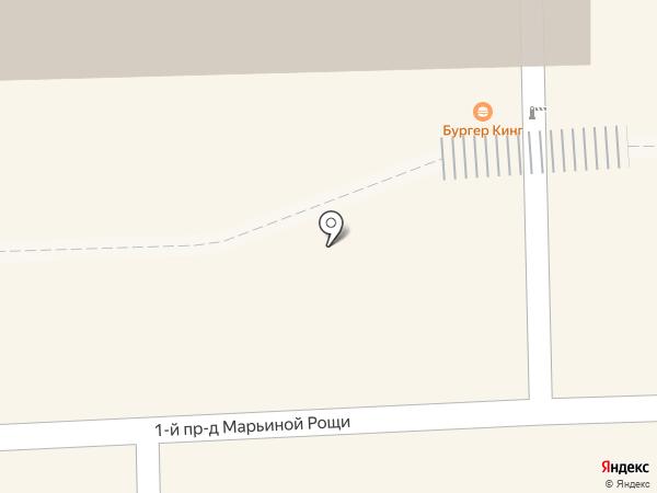 Моем паром на карте Москвы