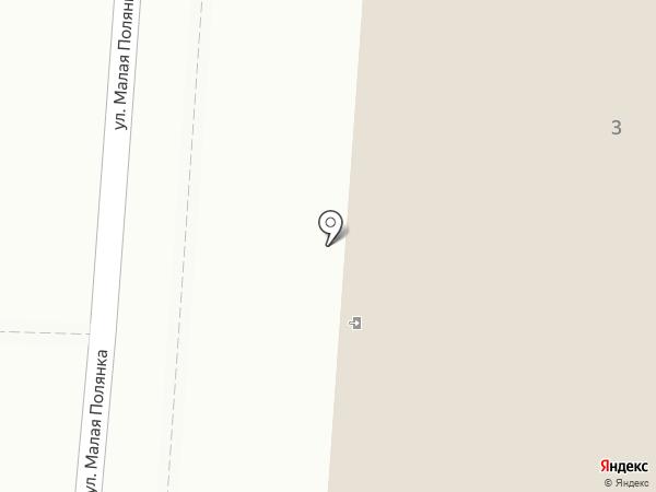 Московская городская телефонная сеть, ПАО на карте Москвы