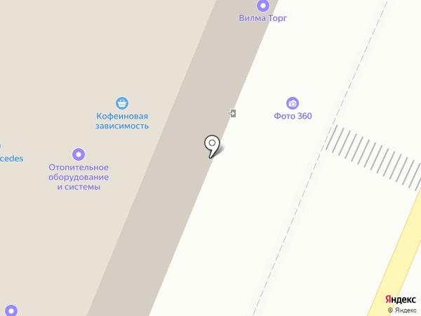 МосПромСерт на карте Москвы