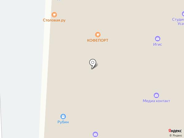 Столовая.ру на карте Москвы