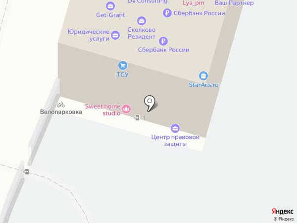 Копировальный центр на карте Москвы