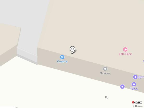СК Центр на карте Тулы