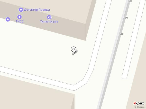 Главное Управление Администрации г. Тулы по Зареченскому территориальному округу на карте Тулы