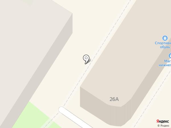 Магазин верхней одежды на карте Тулы