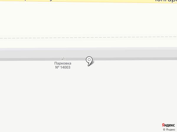 Золотой гиацинт на карте Москвы