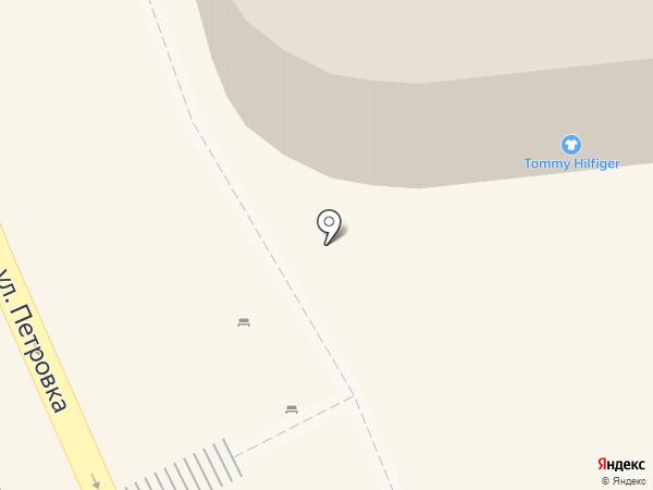 Omega на карте Москвы