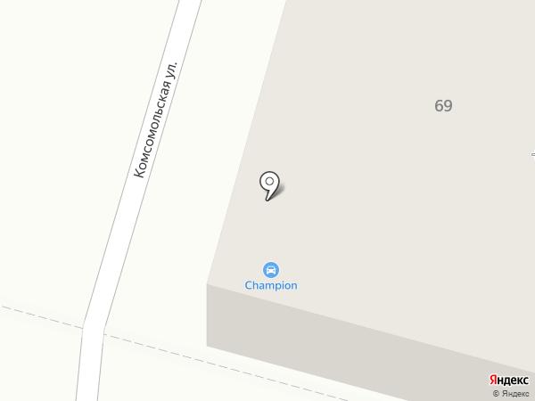 Солнышко на карте Тулы