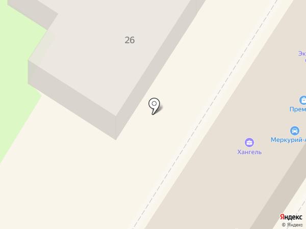 Магазин верхней женской одежды на карте Тулы