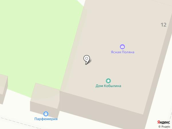 Ясная поляна на карте Тулы