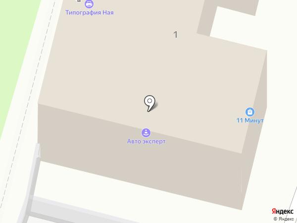 11 МИНУТ на карте Тулы