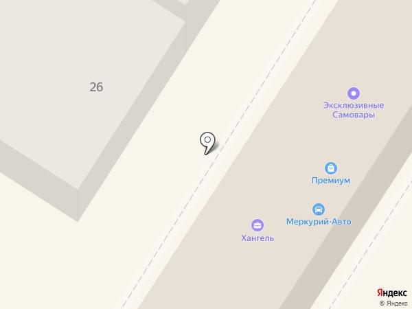 Магазин мужской одежды на карте Тулы