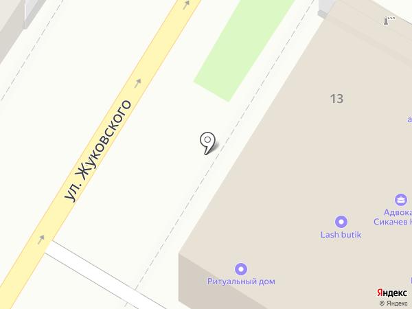 КерамоСити на карте Тулы
