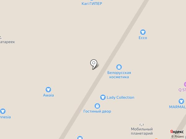 Магазин кожгалантереи на карте Тулы