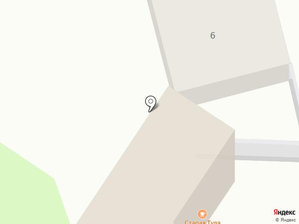 Гостевой дом на Буденного на карте Тулы