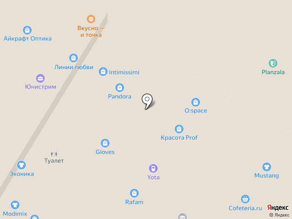 BLISS на карте Тулы