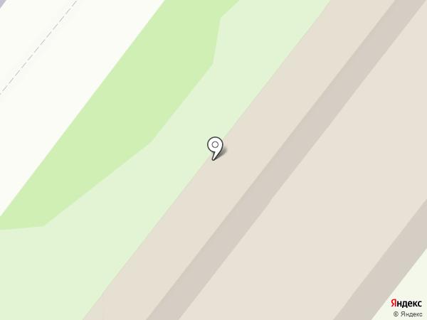 Тульский пряник на карте Тулы