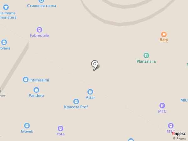 ВЕРБЕНА-КосметикаПроф на карте Тулы