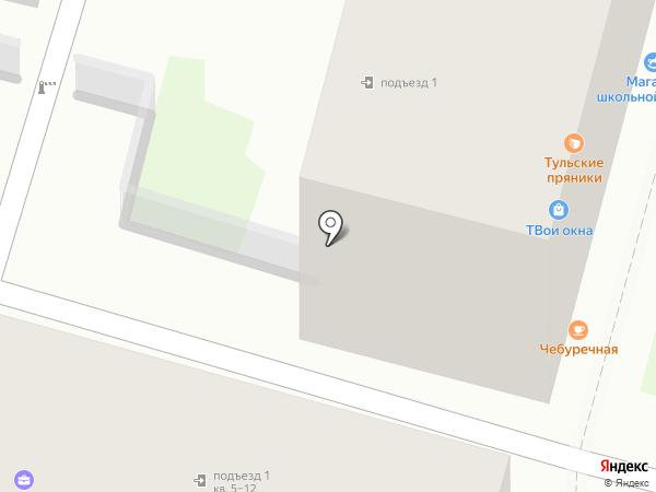 Autoparts на карте Тулы