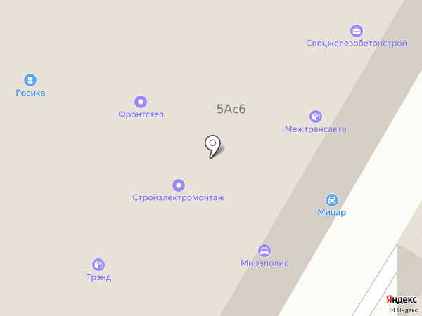 ТЭЛМА на карте Москвы