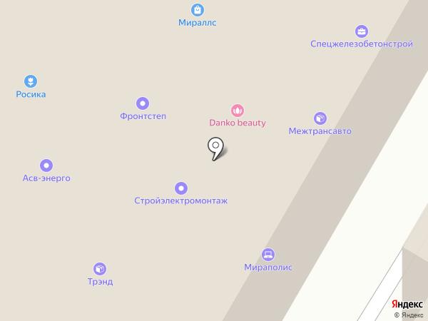 Афлекс Дистрибьюшн на карте Москвы