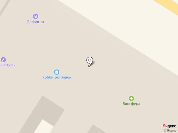 Белорусский двор на карте Тулы