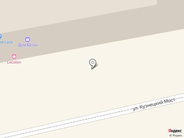 CLAUDERER на карте Москвы