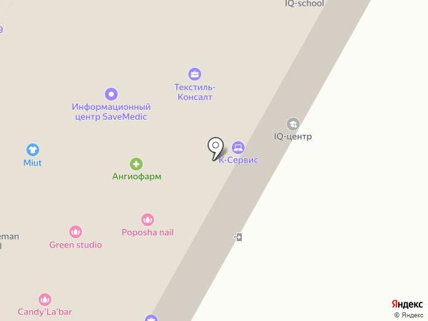 Игрёнок на карте Москвы