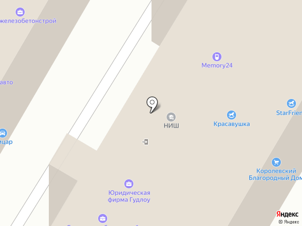 IPDROM на карте Москвы