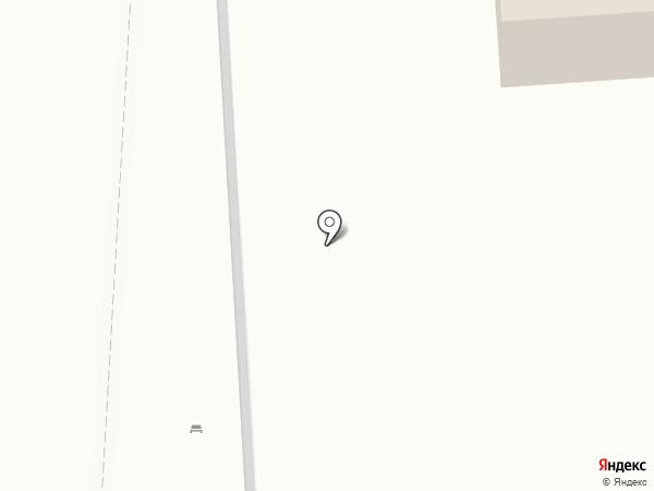 Киоск хлебобулочных изделий на карте Москвы