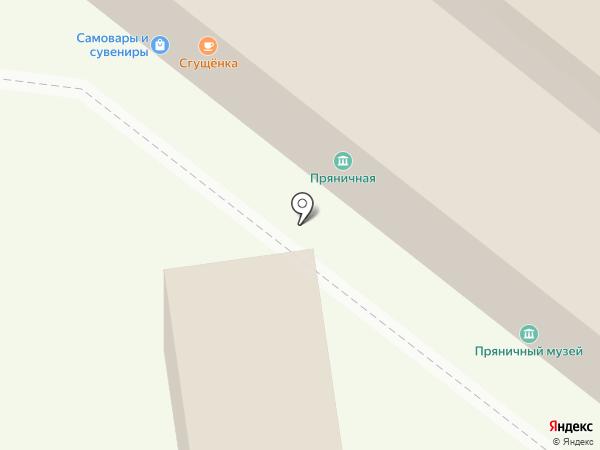 Волшебный чемоданчик на карте Тулы