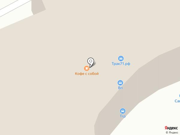 Автотехцентр на карте Тулы