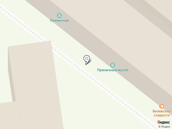 Белевские сладости на карте Тулы