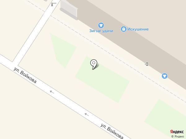 Магазин нижнего женского белья на карте Тулы