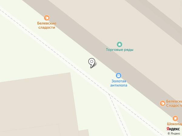 Шоколад на карте Тулы