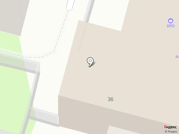 Компания на карте Тулы