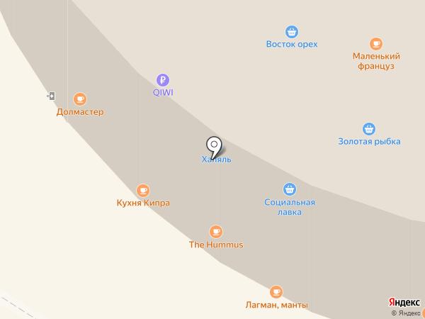 Мясная лавка на карте Москвы