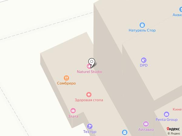 Студия дизайна Сергея Саргина на карте Москвы